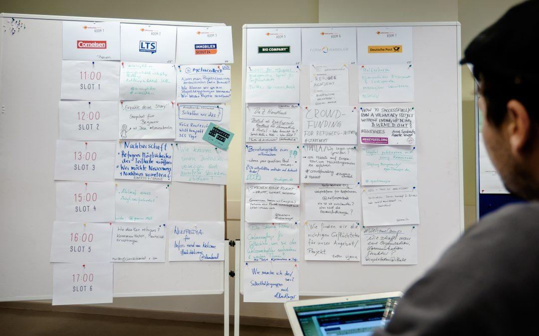 #WelcomeCamp Sessionplan