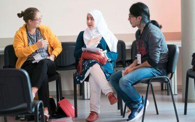 Dokumentation WelcomeCamp 2018: Arbeit im Ehrenamt