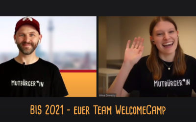 Die Auswertung des digitalen WelcomeCamps 2020
