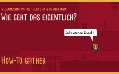 gather.town: How to (Videos)